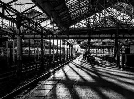AD Third_Ron Sutton_Waiting For The Train