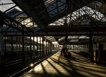 AD 20__Ron Sutton_The Early Train