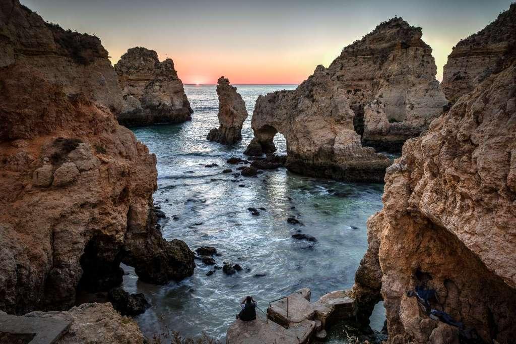 Algarve coastline by Ray Groome